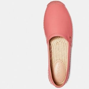Coach Shoes - NWT COACH Casey Espadrille Bright Coral